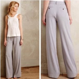 Anthropologie Verso Wide Leg Trousers